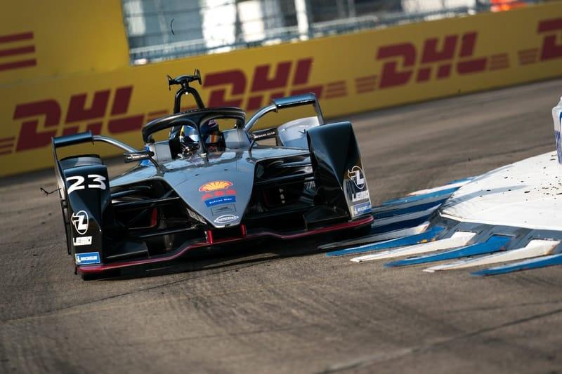 Sebastien Buemi - Berlin Templehof Airport Formula E Qualifying
