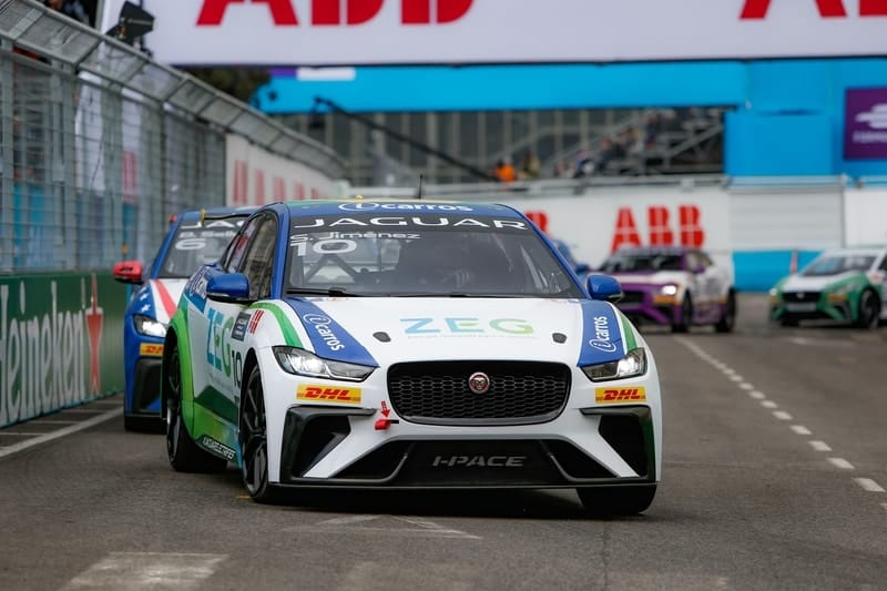 Sergio Jimenez and Bryan Sellers - Jaguar I-Pace eTrophy - Monaco