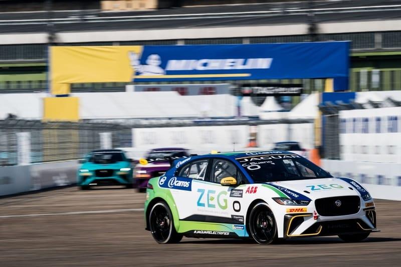 Cacá Bueno - Jaguar Brazil Racing in the Jaguar I-Pace eTrophy - Berlin - Practice