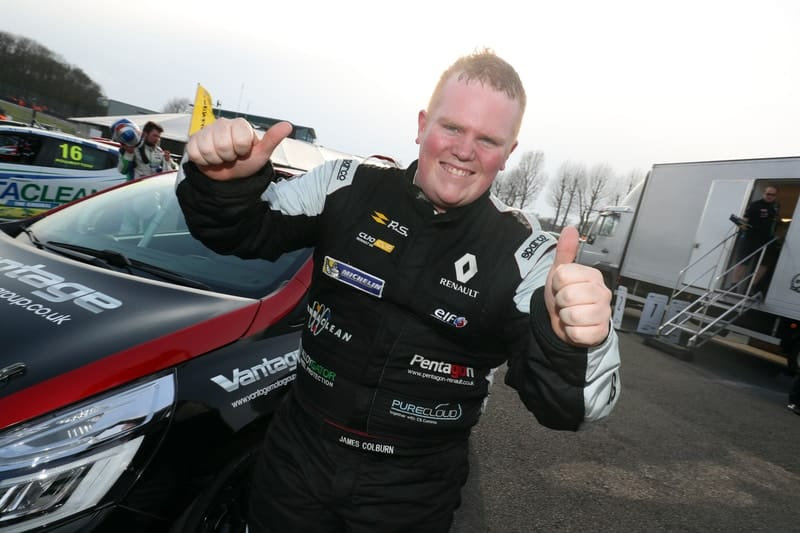 James Colburn Renault UK Clio Cup