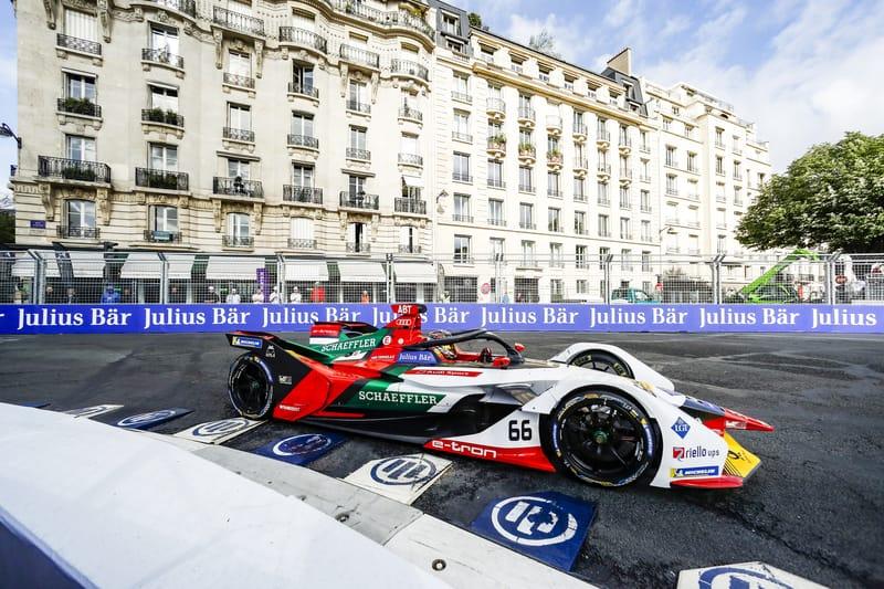 Lucas di Grassi - Audi Sport ABT Schaeffler at the 2019 Paris ePrix - Qualifying