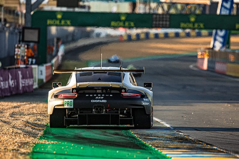 Porsche leading the GTE Pro class