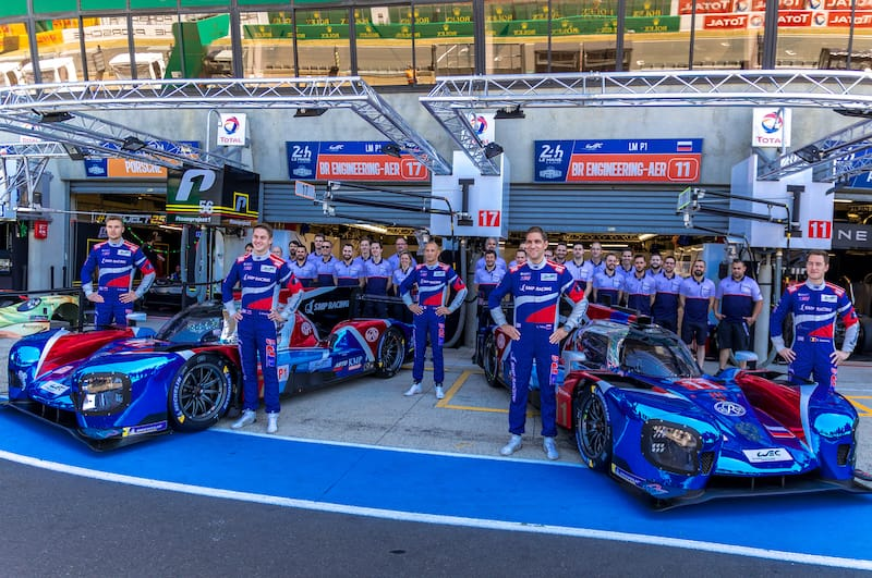 SMP Racing crew for the 2019 24 Hours of Le Mans