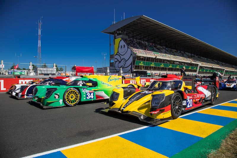 The INter Europol Competition #34 and High Class Racing #20 LMP2 entry for 2019 24 Hours of Le Mans