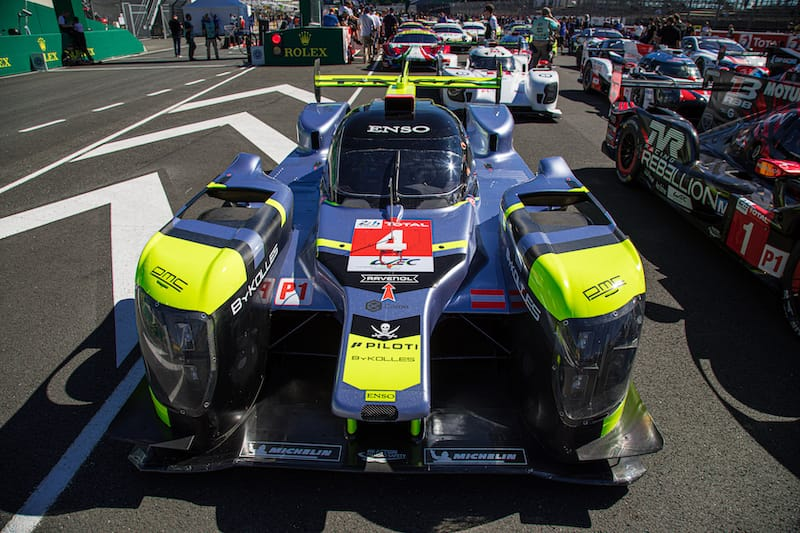 The Bykolles Racing Team #4 LMP1 entry Le Mans 2019