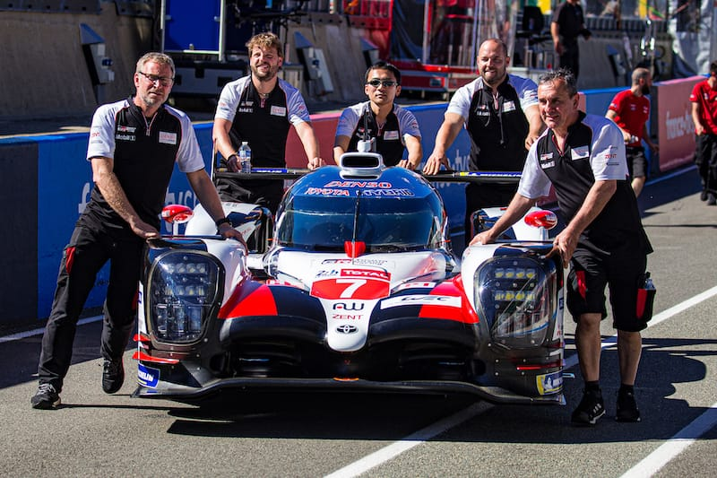 Toyota Gazoo Racing LMP1 entry Le Mans 2019