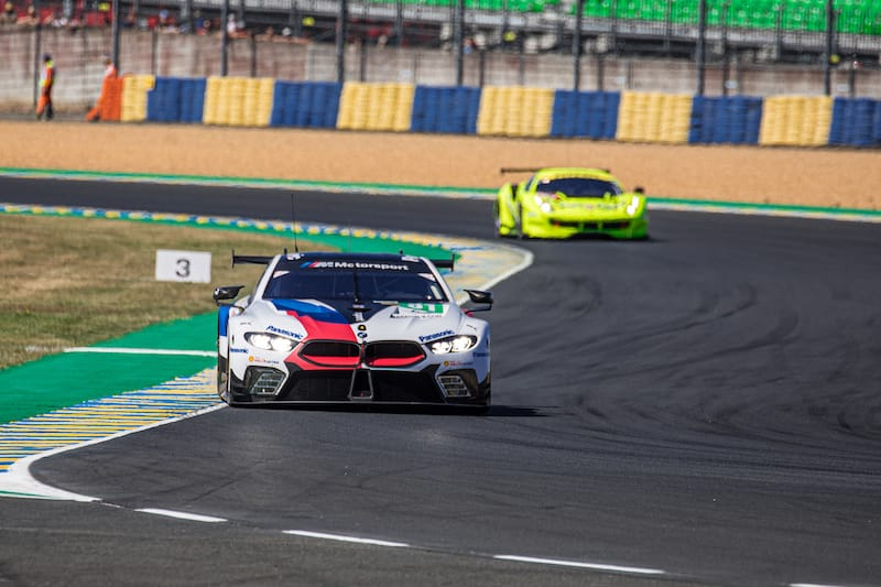 The Balance of Performance in GTE has not been changed from the test ahead of the main event.