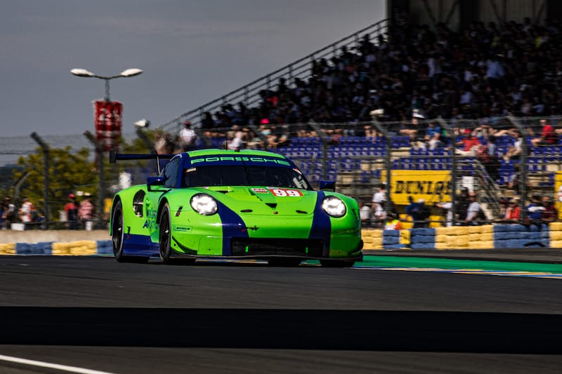 The Dempsey-Proton Racing #99 LM GTE Am entry for the 2019 24 Hours of Le Mans
