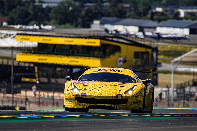 JMW Motorsport on track for the Le Mans Test Day