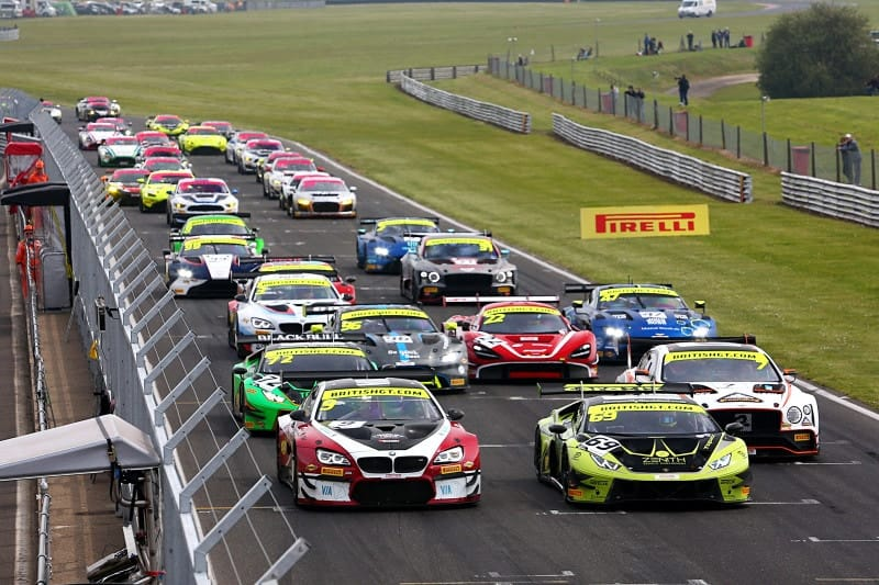 Snetterton British GT Start