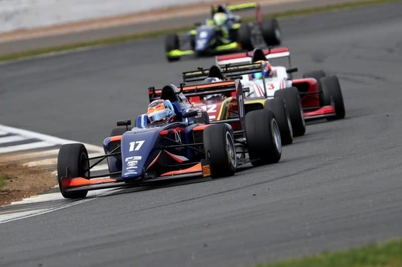 Clement Novalak - Carlin - Silverstone GP circuit