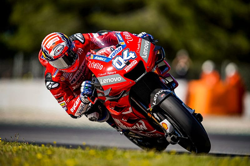 Dovizioso says he could have challenged for the win in Catalunya