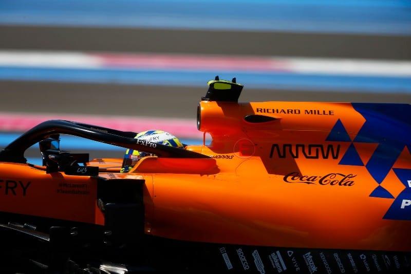 Norris - McLaren - F1 France Race