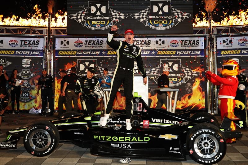 Newgarden surges late to take Texas victory - The Checkered Flag