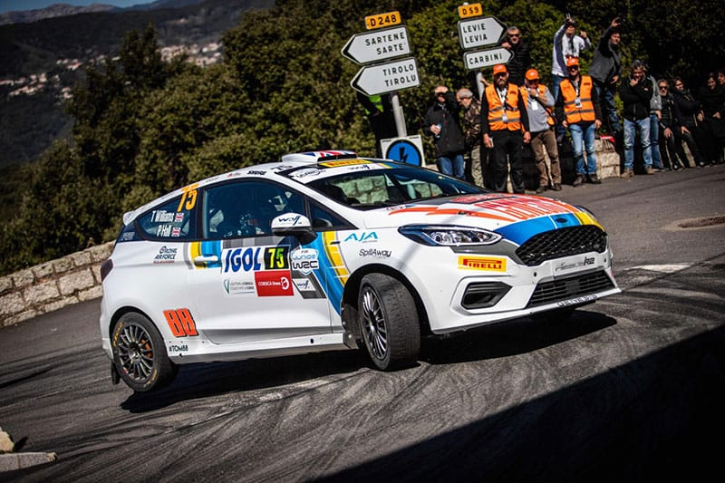 Tom Williams - Junior WRC - Ford Fiesta R2