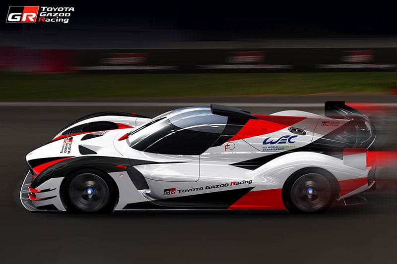 Toytoa Gazoo Racing 'Hyper Sports Car' Concept