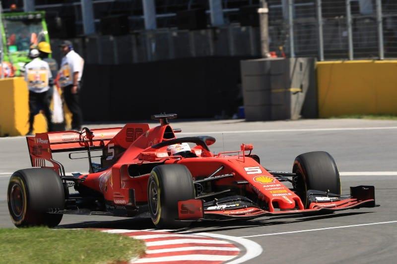Vettel - Ferrari - Canada FP3