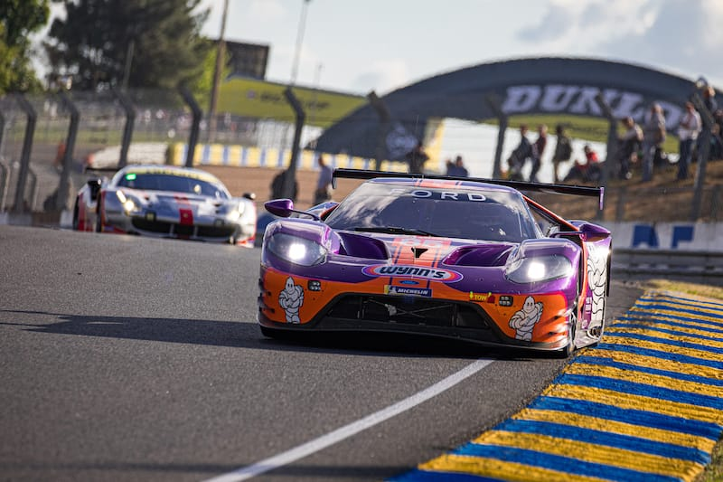 #85 Keating Motorsport leading the LM GTE Am class