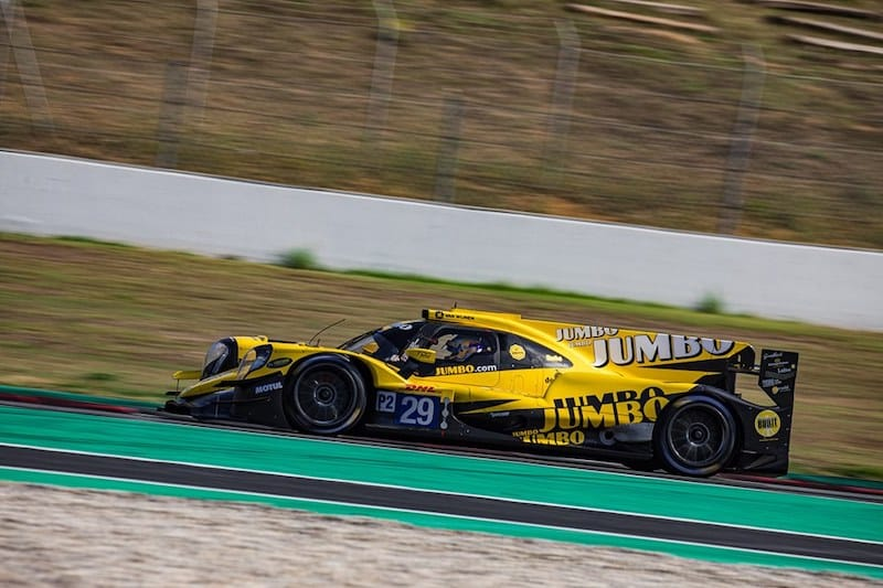 Team Racing Nederland finish the penultimate session of the WEC Prologue fastest in LMP2