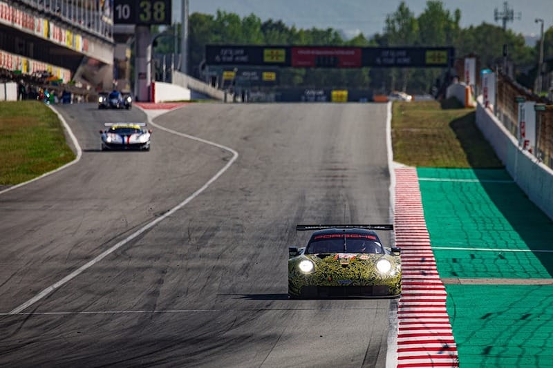 Team Project 1 on track in Spain for the 2019 WEC Prologue