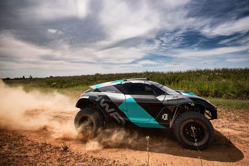 Extreme E Car Photoshoot