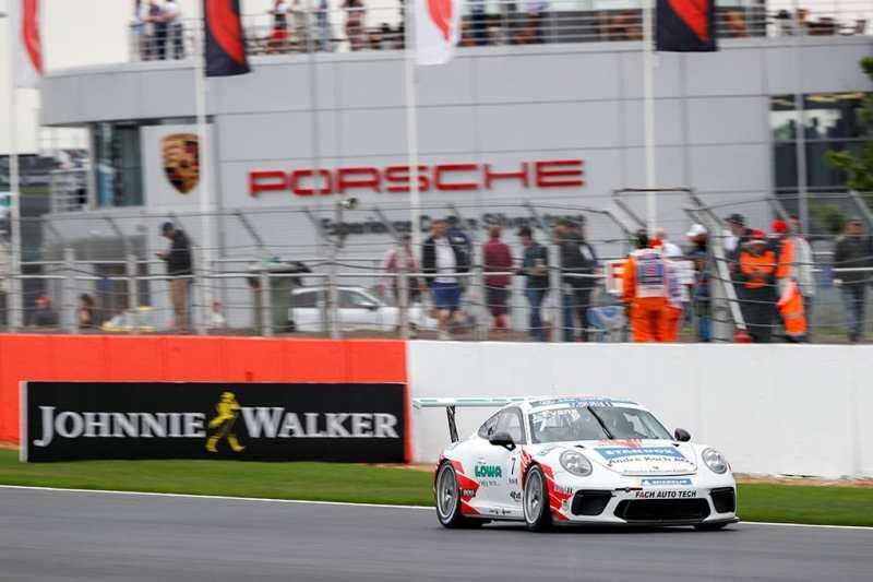 Jaxon Evans - FACH AUTO TECH - Porsche Mobil 1 Supercup