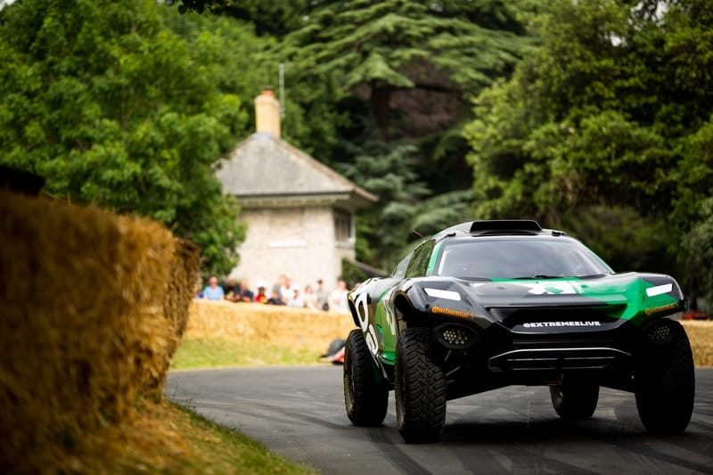 Extreme E car at Goodwood Festival of Speed
