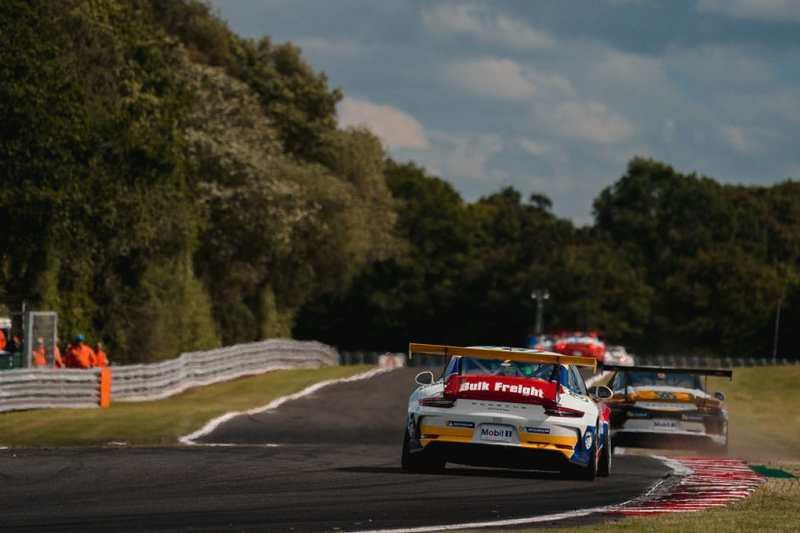 2019 Porsche Carrera Cup GB - Oulton Park - Justin Sherwood