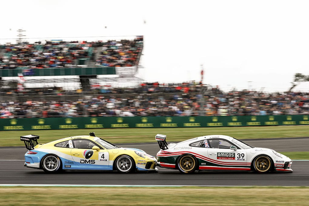 Tio Ellinas / George Gamble - Porsche Mobil 1 Supercup - Silverstone