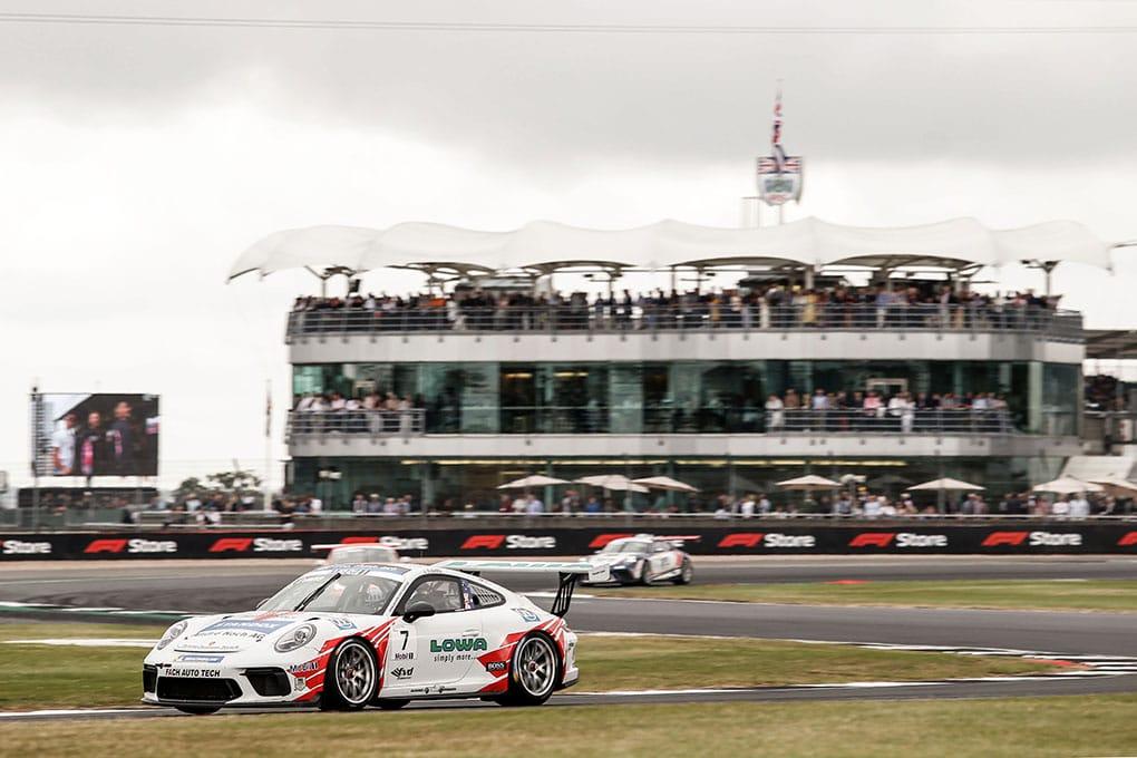 Jaxon Evans - Porsche Mobil 1 Supercup - Silverstone
