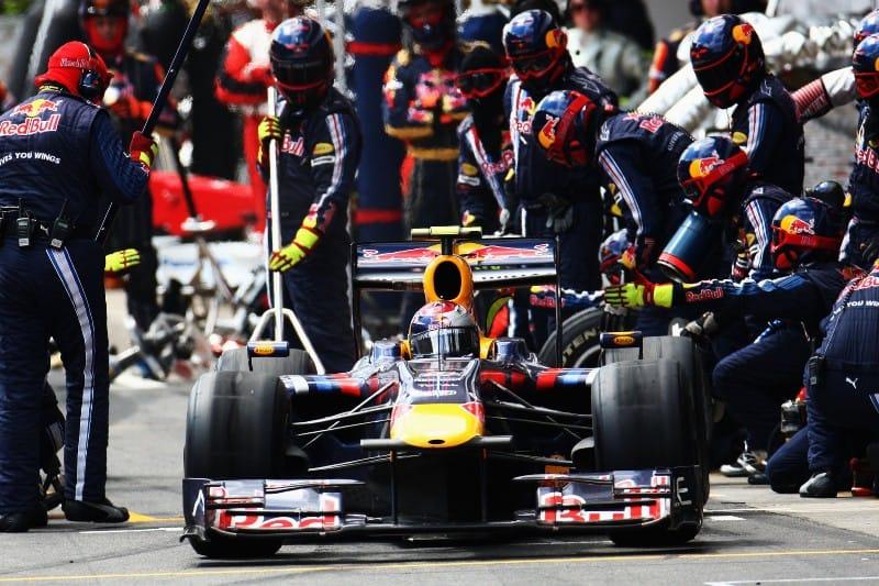 Red Bull - Refueling - 2009