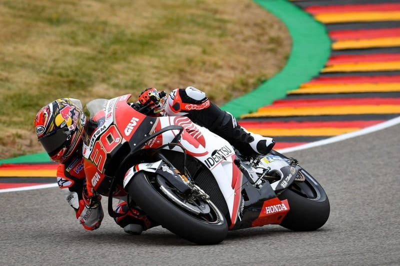 King of the Ring Marquez takes Pole in Germany