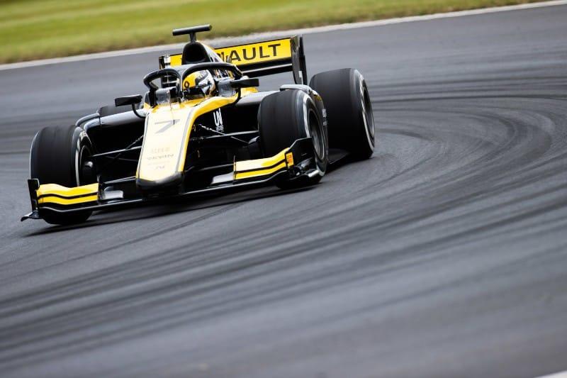 Zhou - F2 - Virtuosi - Silverstone
