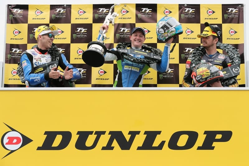 Isle of Man TT 2019 Podium.