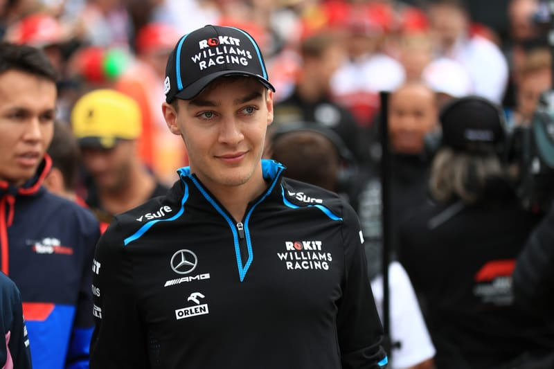 George Russell - ROKiT Williams Racing at the 2019 Formula 1 British Grand Prix - Silverstone - Race