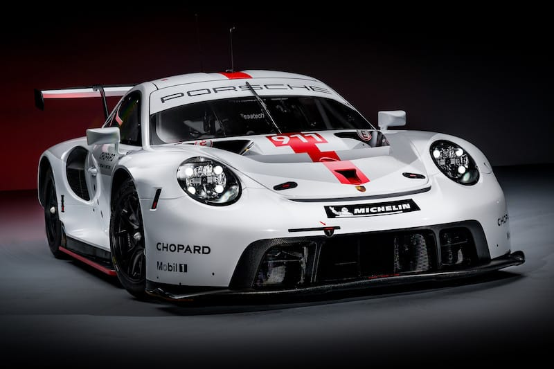 The new evolution of the Porsche 911 RSR