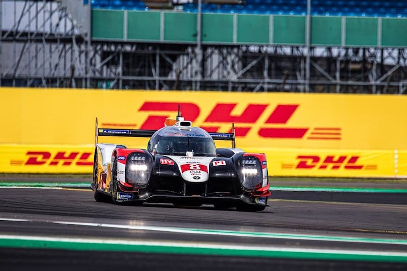 Toyota Gazoo Racing on track at Silverstone