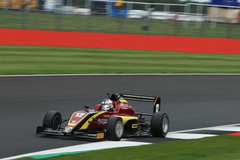 Ayrton Simmons wins race three at Silverstone GP circuit