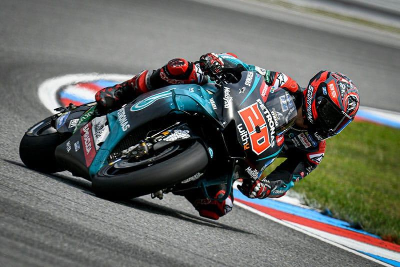 Fabio Quartararo Tops Brno Test