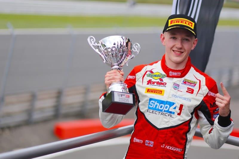 Johnathan Hoggard wins race one at Brands Hatch GP circuit