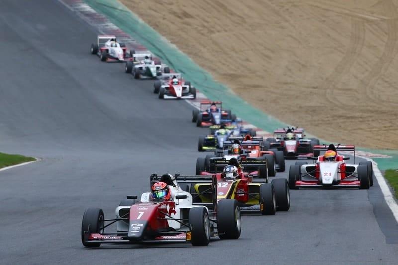Nazim Azman leads race two at Brands Hatch GP circuit