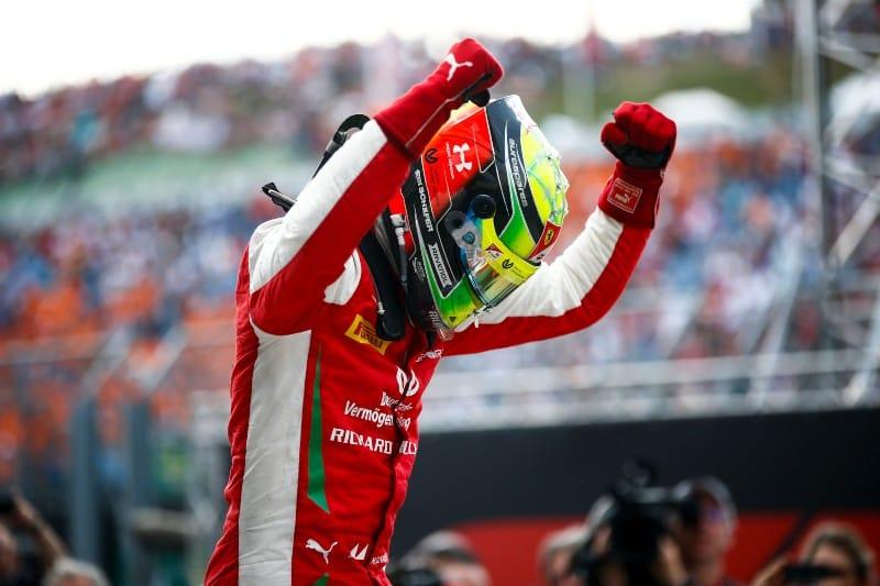 Schumacher - F2 - Hungary Win