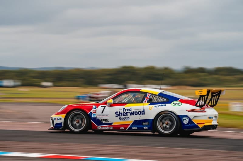 Justin Sherwood - Porsche Carrera Cup GB