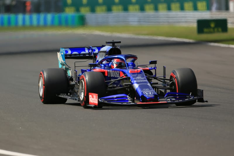 Daniil Kvyat - Red Bull Toro Rosso Honda at the 2019 Formula 1 Hungarian Grand Prix - Hungaroring - Race