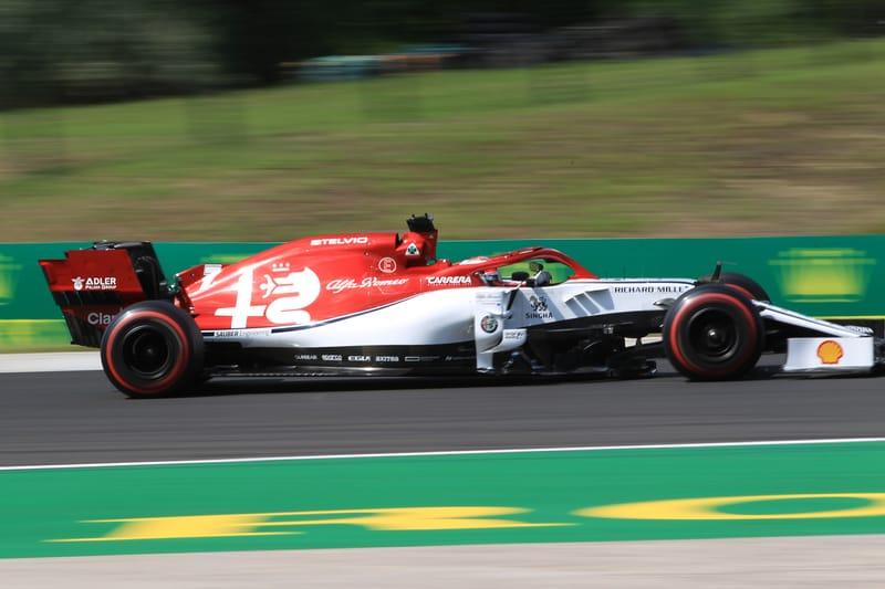 Kimi Räikkönen - Alfa Romeo Racing at the 2019 Formula 1 Hungarian Grand Prix - Hungaroring - Race