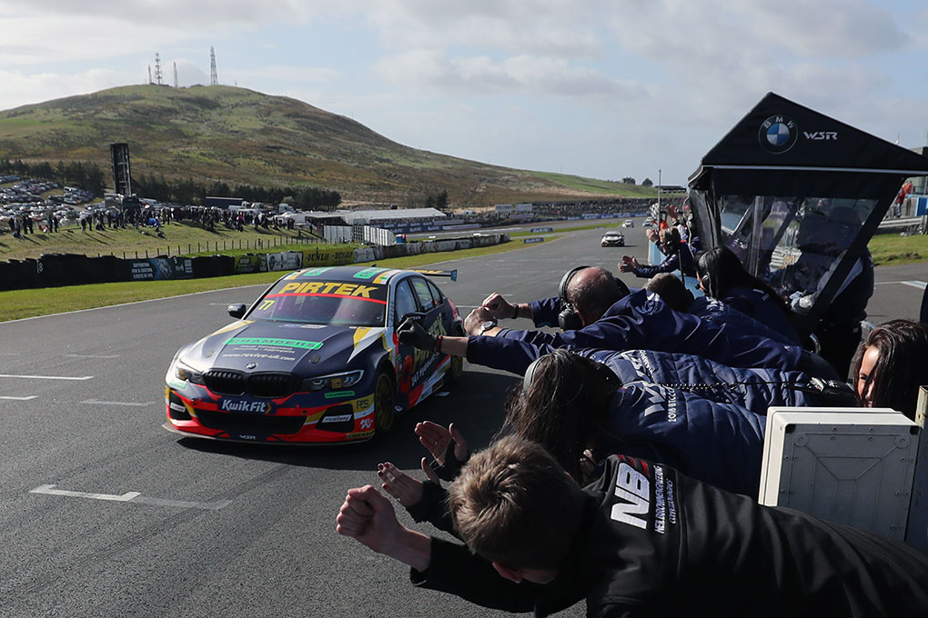 Andrew Jordan - British Touring Car Championship - Knockhill
