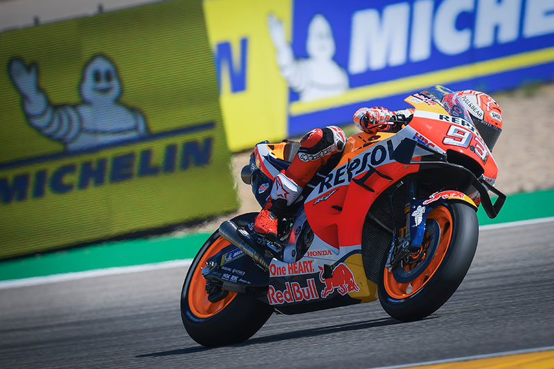 Marquez wins Aragon Grand Prix