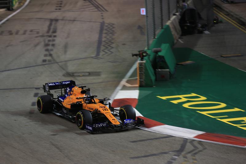 Carlos Sainz Jr. - McLaren F1 Team at the 2019 Formula 1 Singapore Grand Prix - Marina Bay Street Circuit - Free Practice 2
