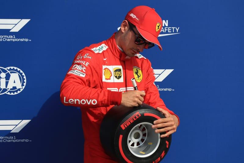 Charles Leclerc - Scuderia Ferrari Mission Winnow in the 2019 Formula 1 Italian Grand Prix - Autodromo Nazionale Monza - Qualifying - Parc Ferme