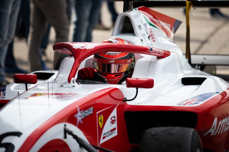Marcus Armstrong - PREMA Racing in the 2019 FIA Formula 3 Championship - Autodromo Nazionale Monza - Race 1